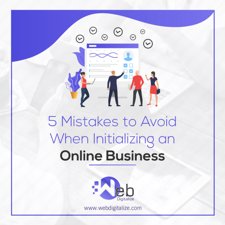 5 Mistakes to Avoid When Initializing an Online Business
