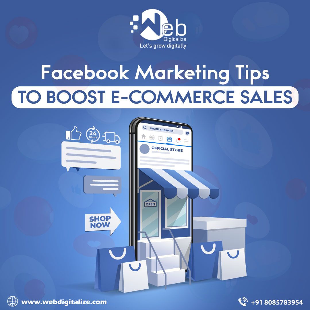 Facebook marketing tips to boost e-commerce sales
