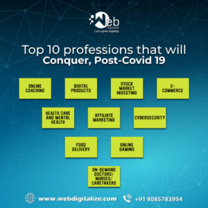 Top 10 profession that will Conquer Post-Covid 19
