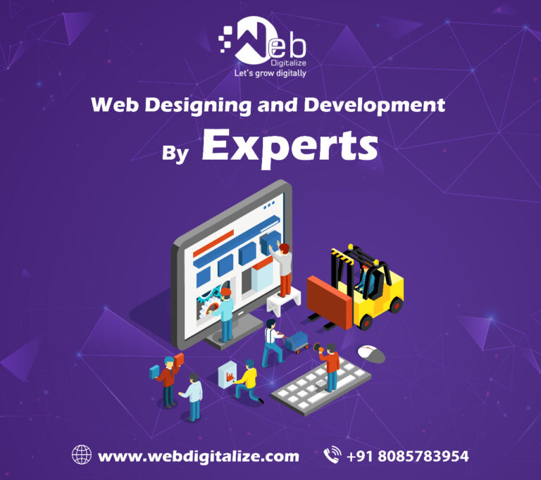 Web Designing and Development by Experts